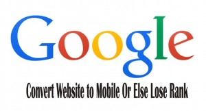 google penalizes websites not mobile friendly