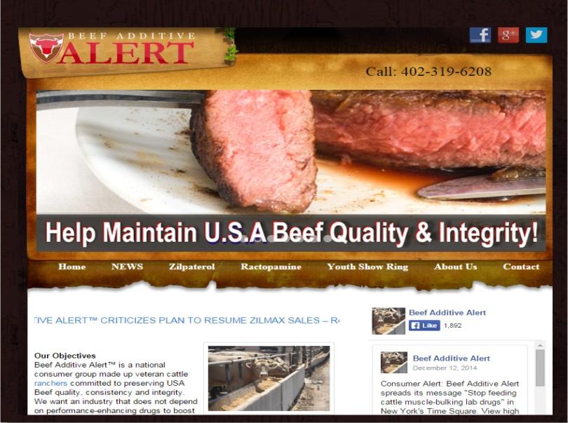 Beef Additive Alert