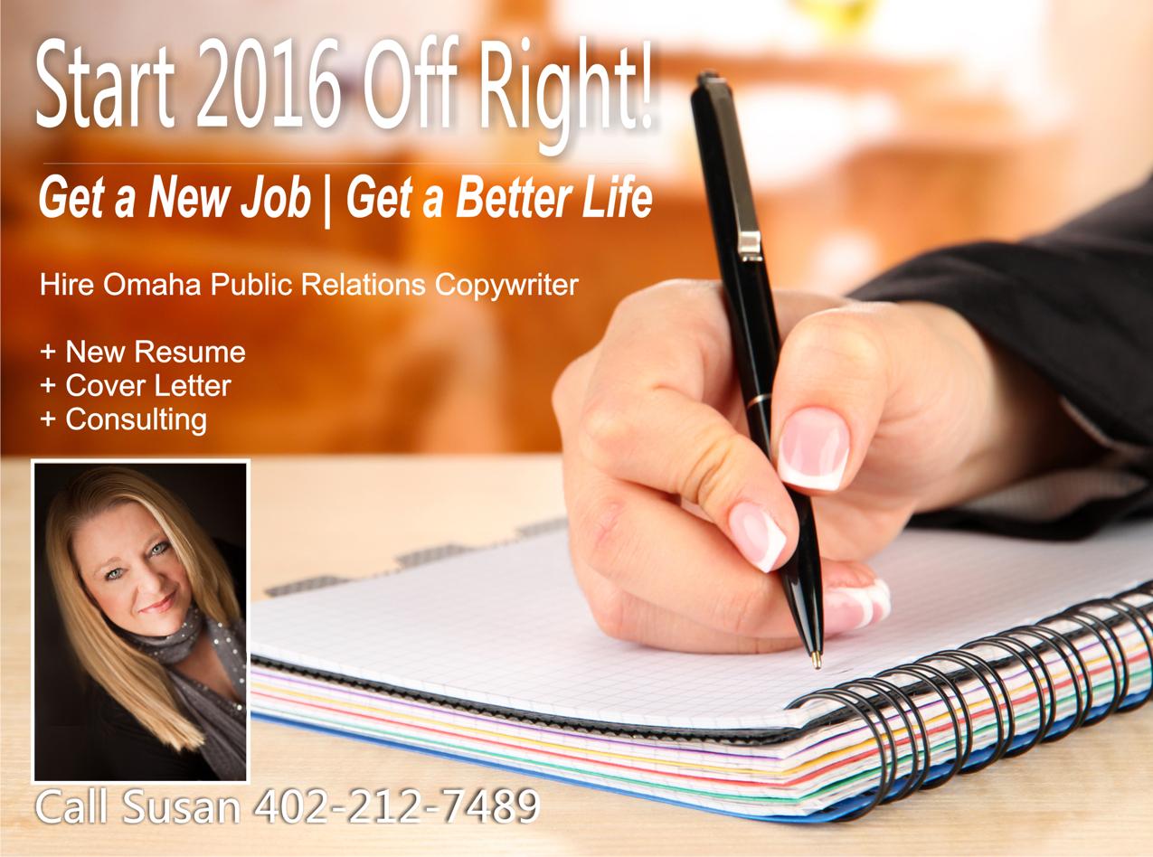 2016 Goal: Hire Omaha Resume Writer