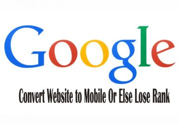 Google Penalizes Websites Not Mobile-Friendly!