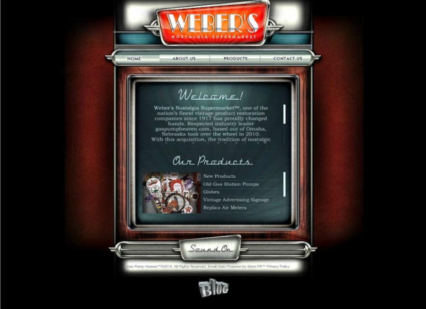 Weber's Nostalgia Supermarket